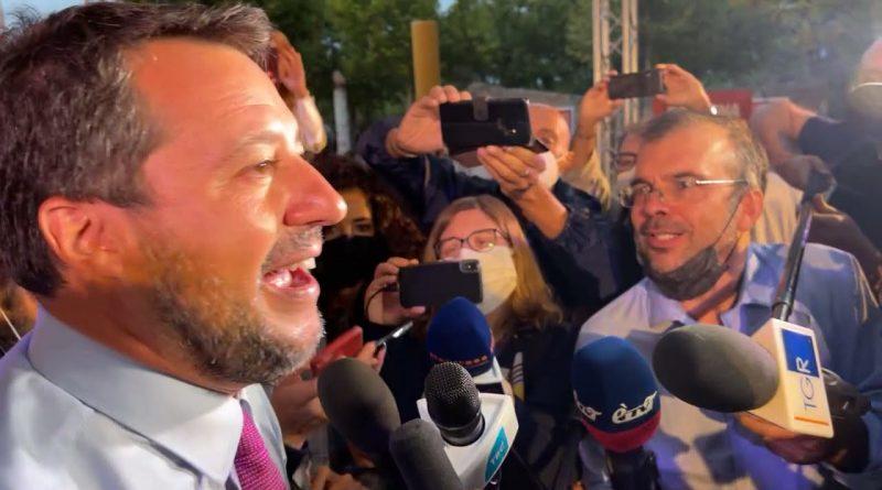 MATTEO SALVINI SCATENATO A BOLOGNA AL QUARTIERE SAN DONATO-SAN VITALE