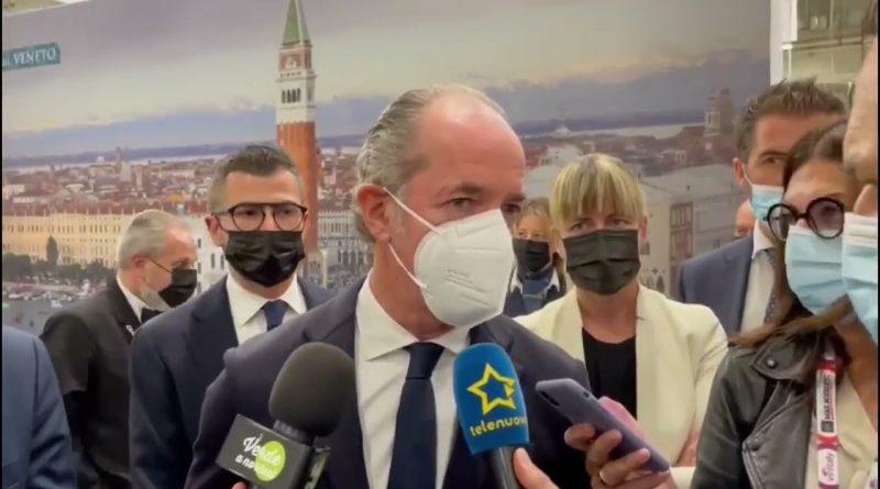 """LUCA ZAIA AL VINITALY: """"VENETO LEADER, SI RIPARTE DAI MERCATI"""""""